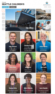 Seattle Children's Hospital employee stories featured on The Muse