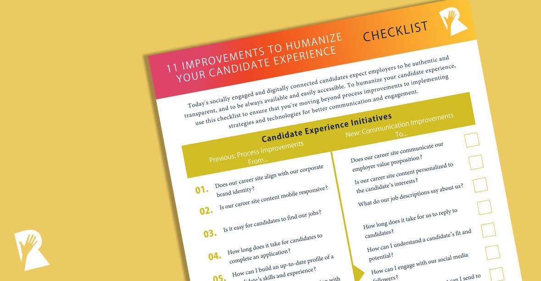 Candidating process improvement