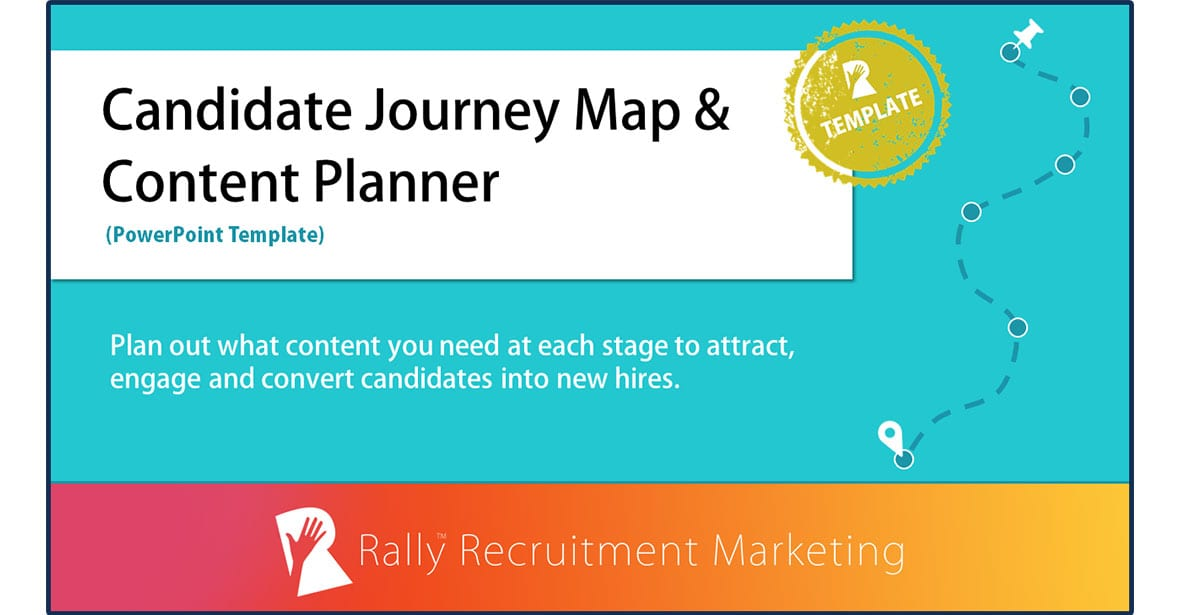 Candidate Journey Map And Content Planner Template Rally