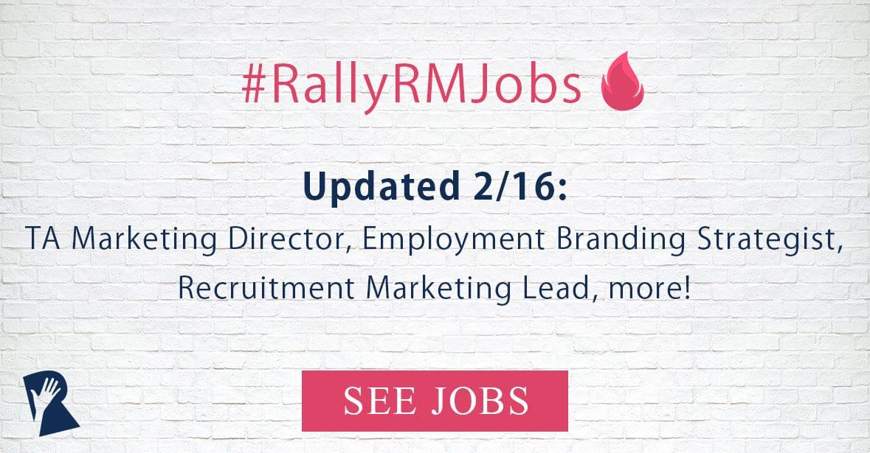 Jobs in Recruitment Marketing, Employer Branding, Talent