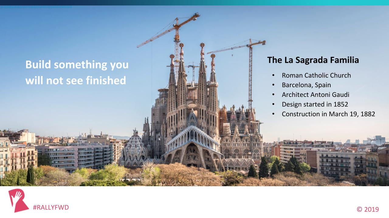 La Sagrada Familia in Barcelona