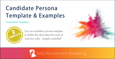 Rally Candidate Persona Template & Examples