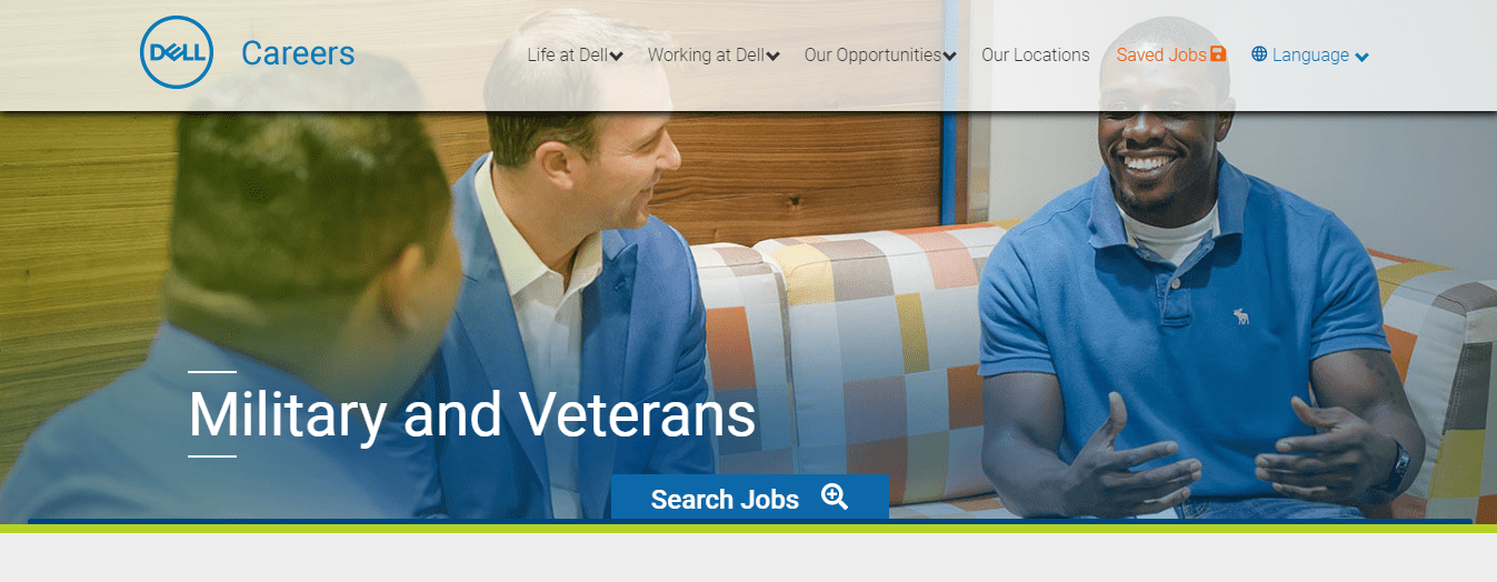 Dell veterans hiring