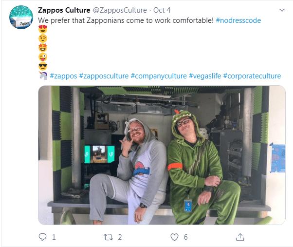 Zappos culture content