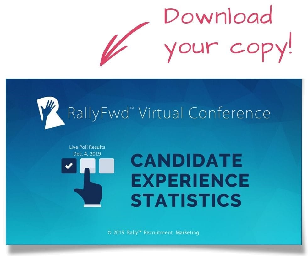 candidate experience statistics survey poll results