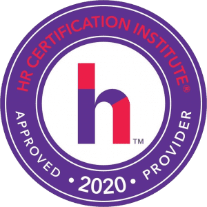 HRCI approved provider seal 2020