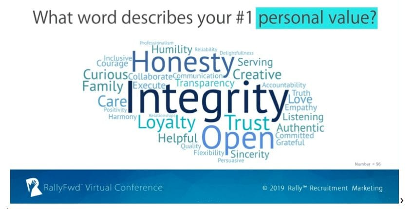 Identify your personal values to become a better recruiter and marketer (and human)