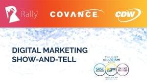 Rally Digital Marketing Presentation at TA Week