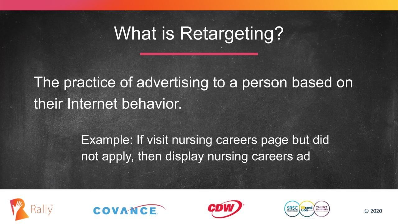 Definition of retargeting in digital marketing