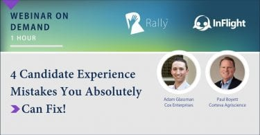Rally Webinar 4 Candidate Experience Mistakes You Can Fix