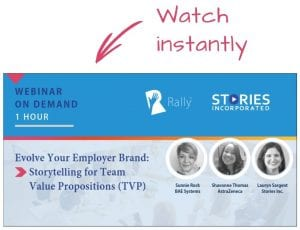 Rally Webinar to Create Team Value Proposition