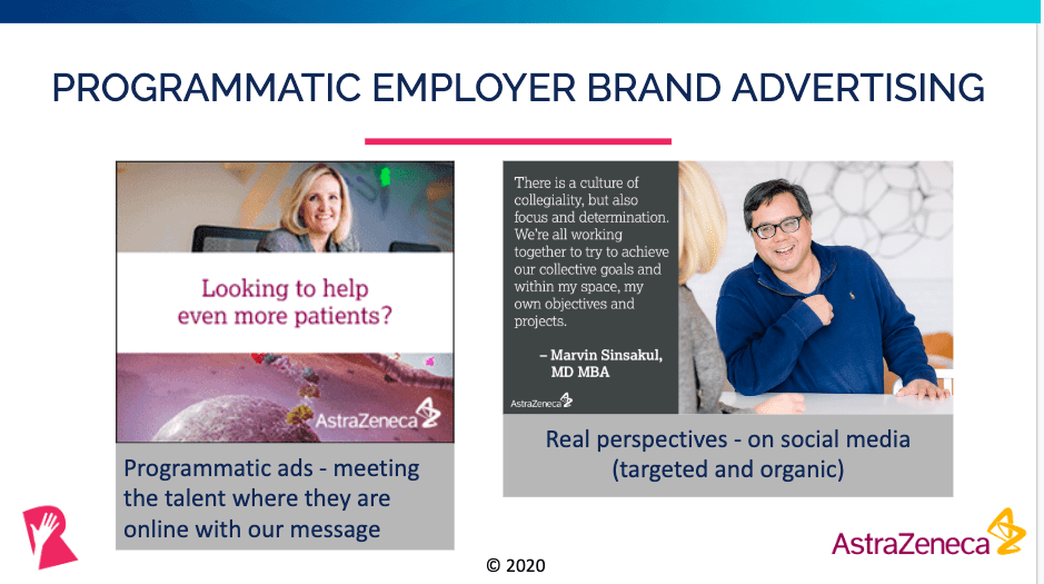 Programmatic brand advertising campaign example