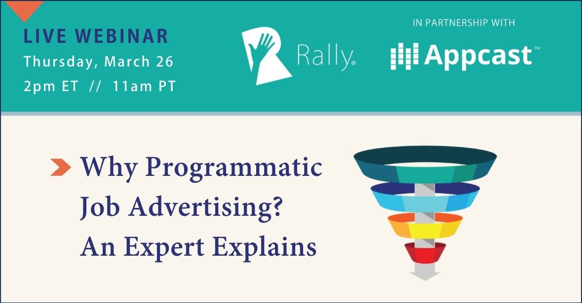 Programmatic Job Advertising Webinar Image