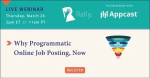 Programmatic Job Posting webinar