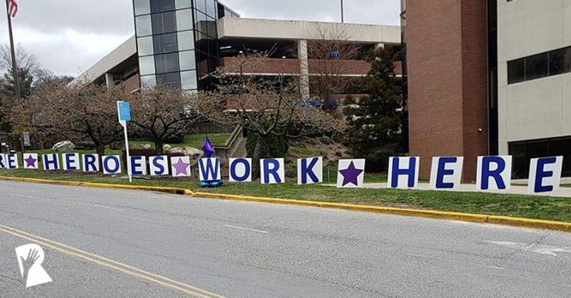 Northwell Health heroes work here