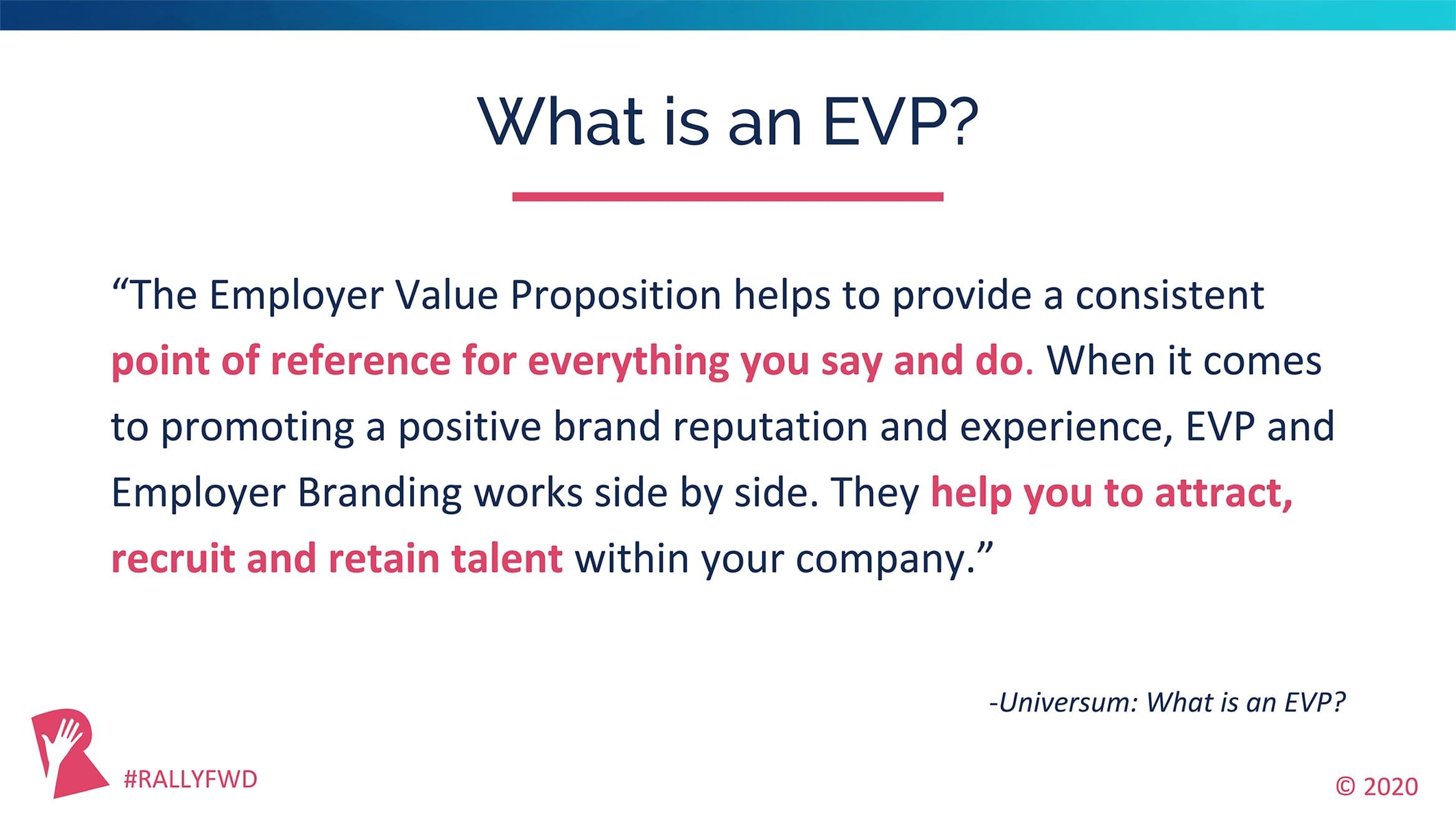 How to create an EVP
