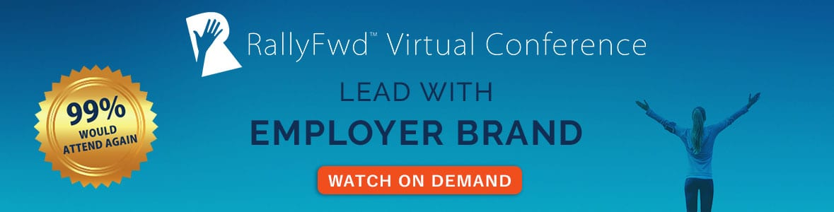 Lead with employer brand webinar from RallyFwd