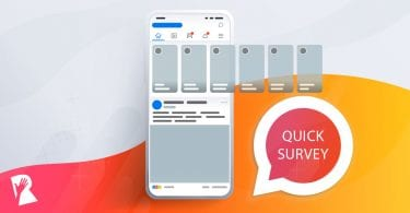 Paid social media survey