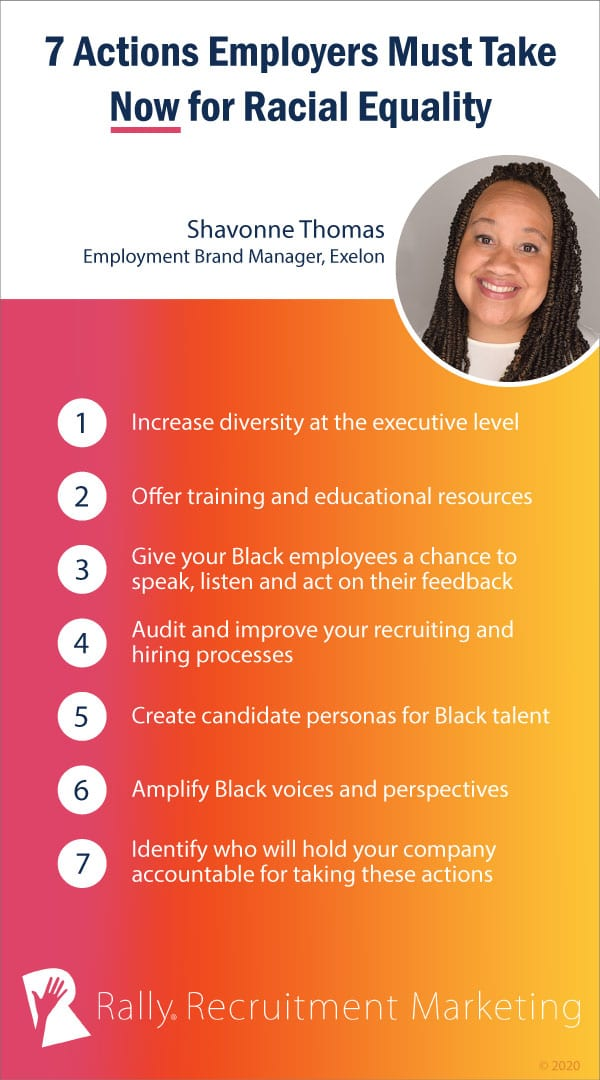 7 actions employers must take now for racial equality