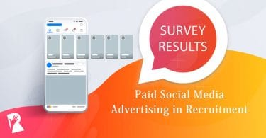 Rally Survey: Paid Social Media Advertising in Recruitment Marketing