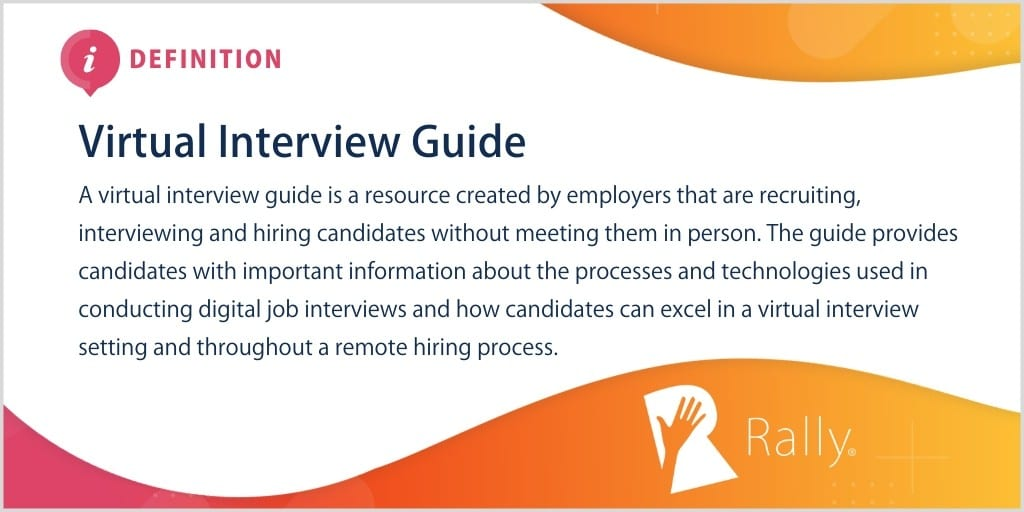 Definition of Virtual Interview Guide