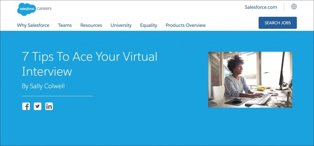 Salesforce Virtual Interview Guide