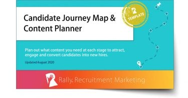 Rally Candidate Journey Map & Content Planner Template