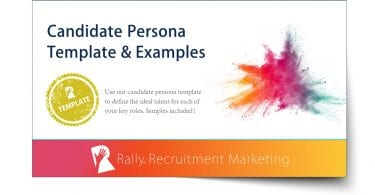 Candidate Persona Template with Examples