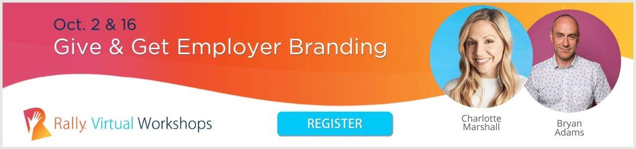 Give & Get Employer Branding Virtual Workshops