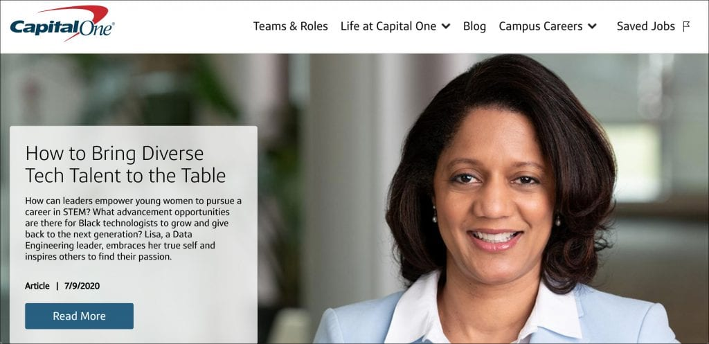 Life at Capital One Careers Blog