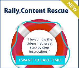Rally Content Rescue Virtual Course