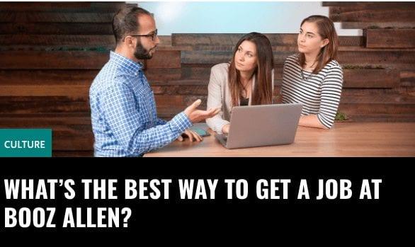 Booz Allen Blog