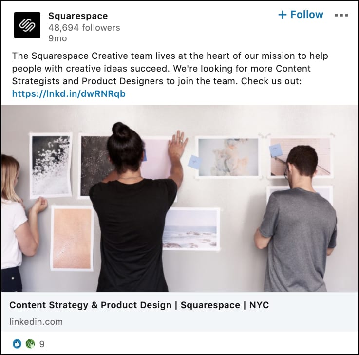 Squarespace Pipeline Builder