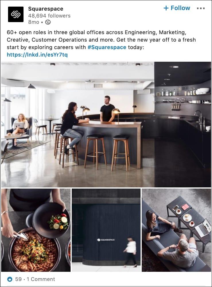 Squarespace Ad Example 1