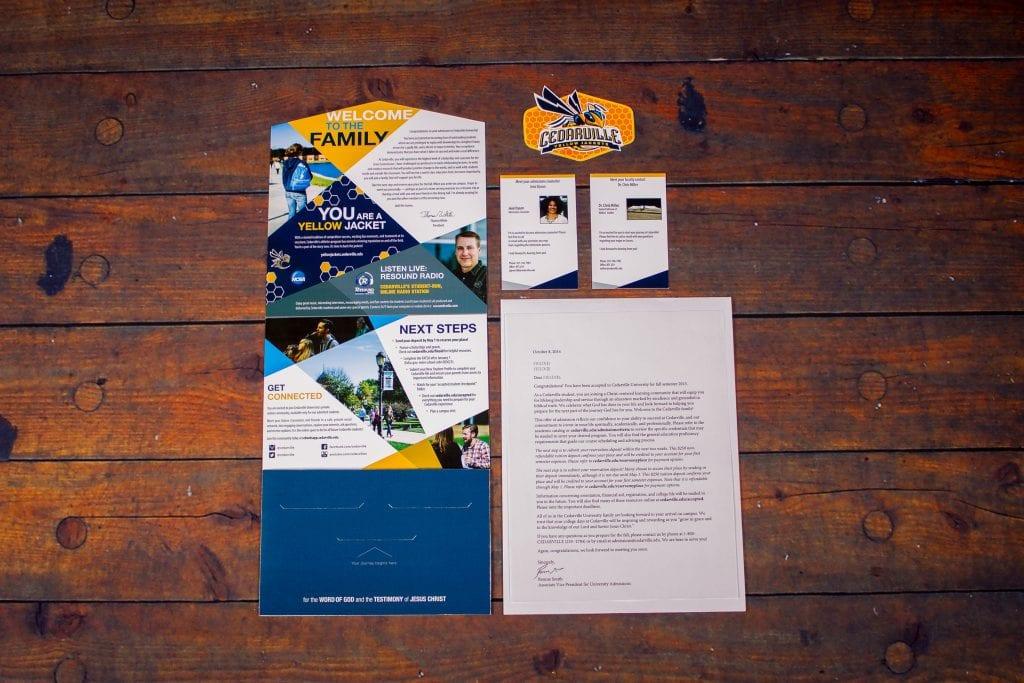 Cedarville University's offer package