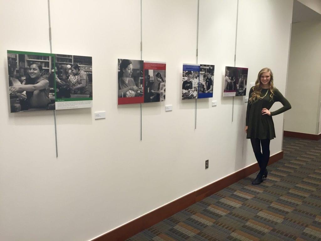 senior exhibit