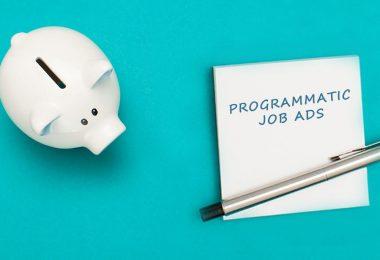 Programmatic job advertising budget