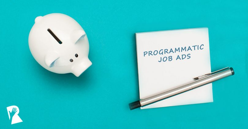 Programmatic job advertising budget