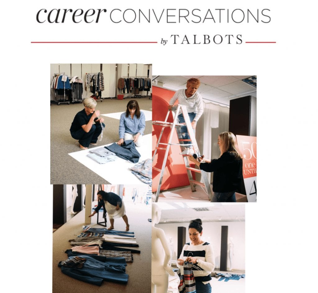 Talbots' Stay Connected Landing Page