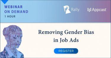 Webinar: Removing Gender Bias in Job Advertising