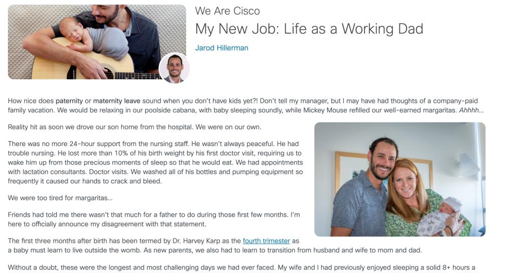 The Life at Cisco blog