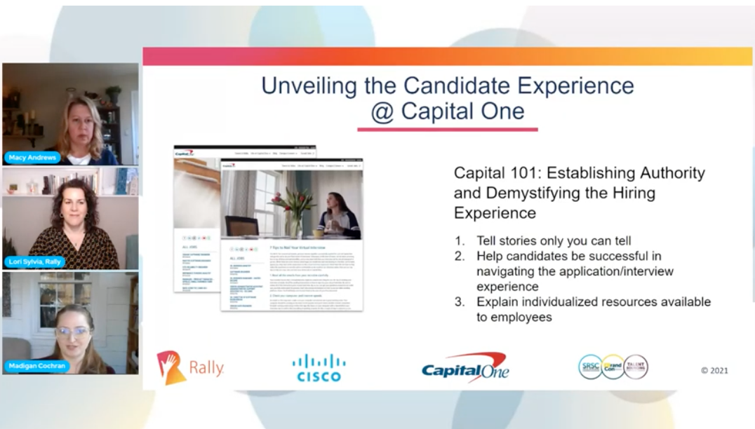 Unveiling the Candidate Experience at Capital One