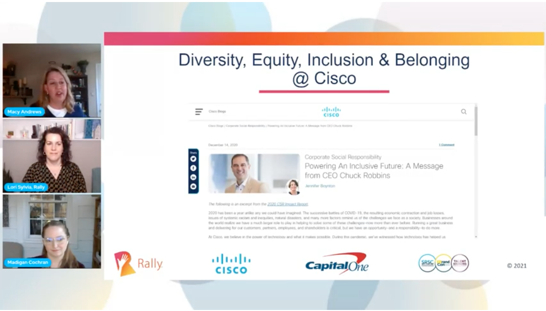 Diversity, Equity, Inclusion and Belonging at Cisco