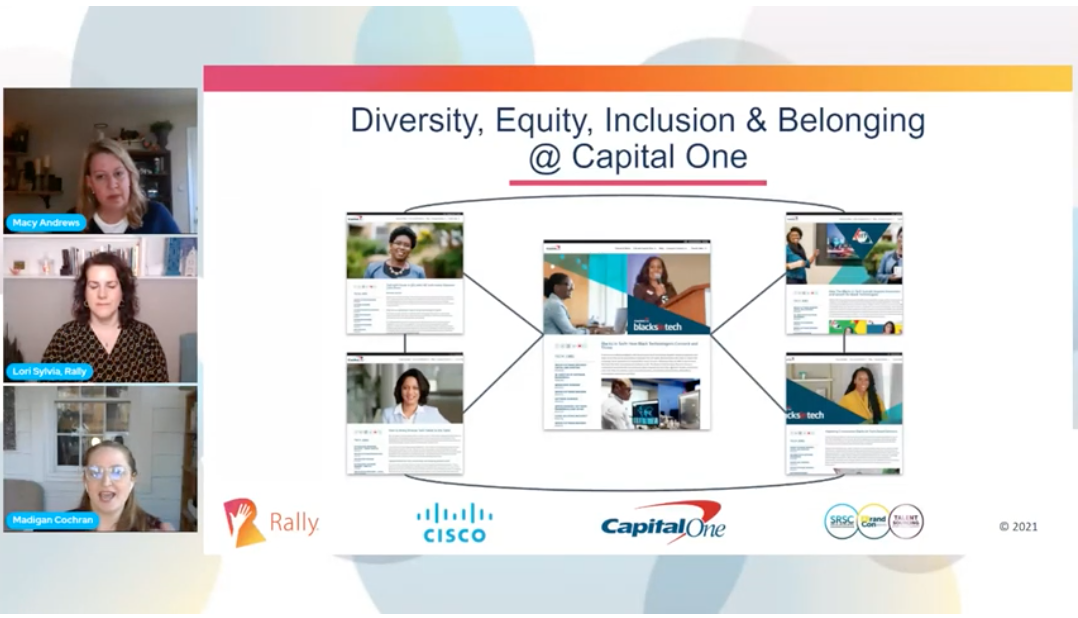 Diversity, Equity, Inclusion and Belonging at Capital One