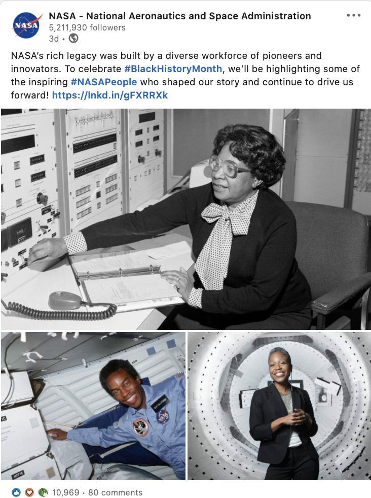 Stories of Black employees at NASA