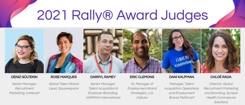 2021 Rally Award Judges