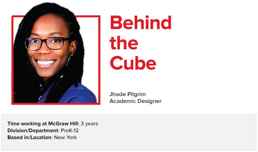 McGraw Hill's Behind the Cube project