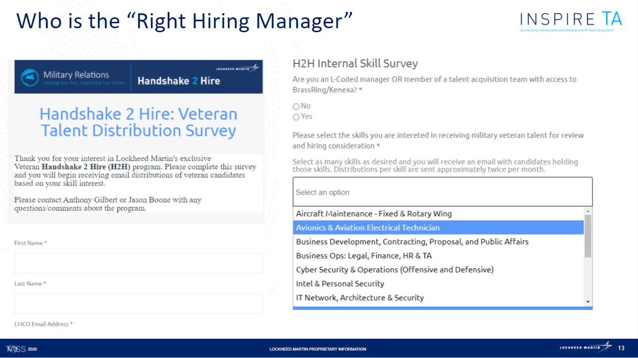 survey to better establish candidate-to-role compatibility